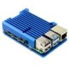 Case dissipatore in alluminio Blu elettrico per Raspberry Pi 4