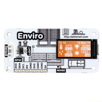 Enviro HAT Mini per Raspberry Pi